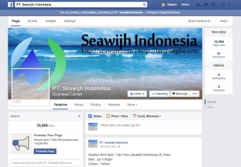PT Seawijh Indonesia Facebook Page
